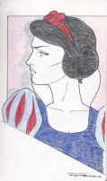 Nagel Style Snow White by Anime-Ray