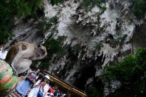 Postcard from Batu Caves 02 by JACAC