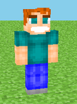 Steve with THE pants Minecraft Skin by NarniaWhales