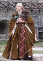 Larp: Lady in brown by Iardacil-stock