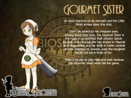Blue Frontier: Gourmet Sister by Alice13th