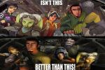 Star Wars Rebels 2D vs 3D by curtrocks