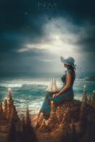 dreams of distant lands by Makusheva