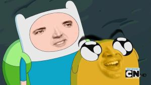 Adventure Time: With Nicholas and Cage by UberZach