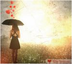 When hearts rains.... by alixia88