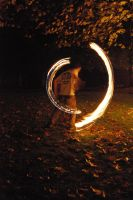 Fire spinning 6 by DARKmousy09
