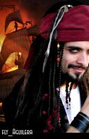 Jack Sparrow Cosplay by flyaguilera
