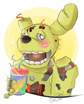 COM//: Cute Springtrap? by SometimesCats
