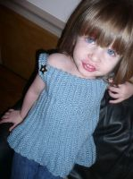 Baby Doll Sweater for little girls by lividrose27