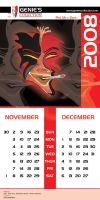Genies Collection Calendar 006 by hamdankhatri