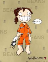 Chell Beans by Mimness