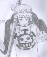 Trafalgar Law by oljailson