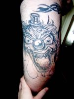 Bob The Clown - tattoo by x-lunchbox-x