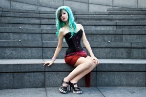 Londinium corsets stock 33 by Random-Acts-Stock