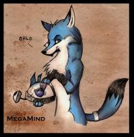 Megamind fox Colored by MadCheshireFox