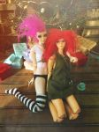 House of Seasons Christmas Slumber Party 2015 by Reverend-Spooky