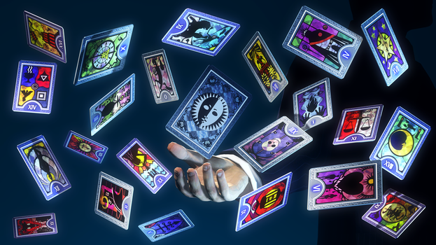 Tarot cards from Persona 3/4/Golden [Gmod/SFM DL] by Elliot151