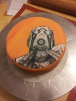 Boarderlands 2 cake by Cupcake-Killer