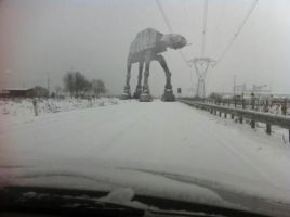 Why did the AT-AT Cross the Road??? by DXvsNWO1994