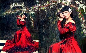 Rossetti's Muse by silvergrey
