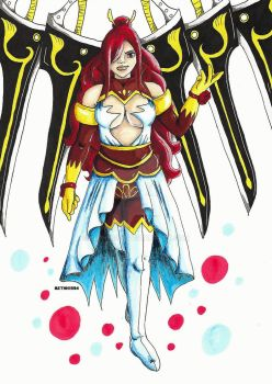 Erza Winged-Armour by BethH1994