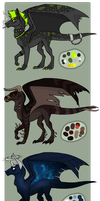 Dragon Adoptables - CLOSED by GoneViral