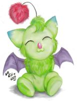 Little Green Moogle by SSW