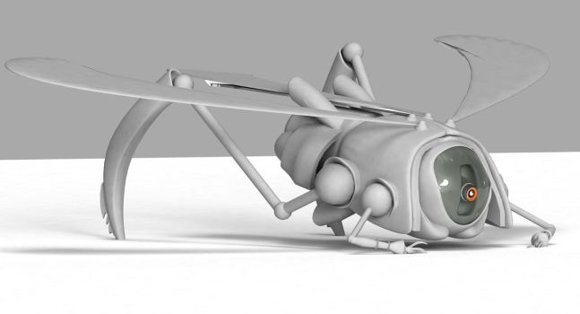 Robotic_Insect by julioleite
