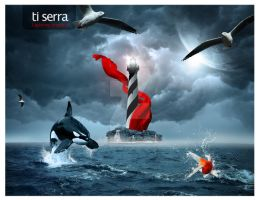 ti serra new year card by E30X
