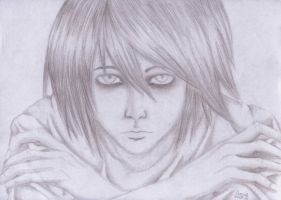 L, Death Note by drazhie