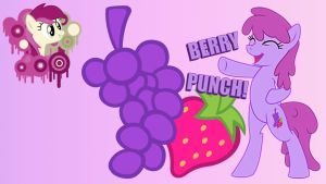 Wallpaper YAY for Berry Punch by Barrfind
