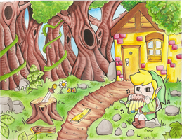 Link Forest by ZeKKe87