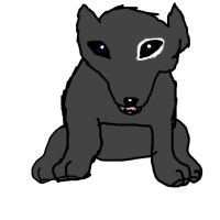 Katsa as a puppy! by FafnirtheDragonLord