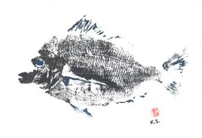 Fish Print 1 by KellyGirl1