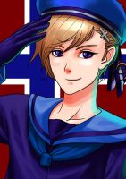 Hetalia Norway by fenrir2512