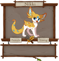 Nikki Registration Sheet by Kamirah