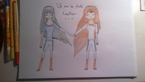 Aki and Ling - Finally Together by hania123