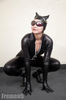 Catwoman Cosplay 4 by SapphireEagle