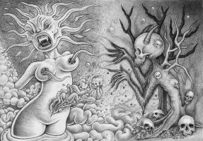 Birth of Death by offermoord