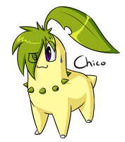.:Pokemon:. Chico the Chikorita by SilverfanNumberONE