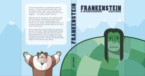 Frankenstein: book jacket by otherwise