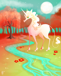 commission - unicorn by AngryPotato