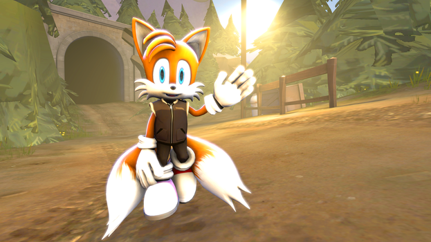 Tails in the Forest (SFM) by MichaelJFan77