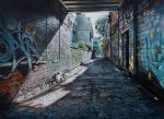 Rush Lane by Acrylicer