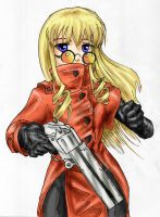 Shinku as Vash the Stampede by AphexAngel