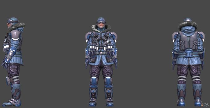 Captain Cold Final Upgrade  - Injustice 2 by SSingh511