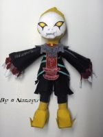 Zelda Twilight Princess Zant plushie by Narayu