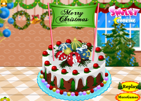 Cake for Christmas - Cooking games by willbeyou