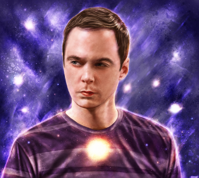 The Big Bang Theory - Sheldon Cooper by p1xer