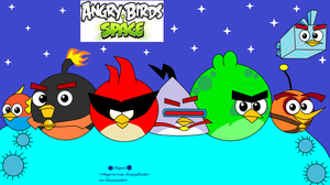 Angry Birds Space by MeganLovesAngryBirds